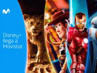 Disney+ en Movistar.