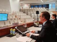José Sevilla, CEO Bankia, presentación de resultados sin asistentes.
