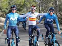 Equipo ciclista Movistar Team.