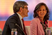 Ana Botín con José Antonio Álvarez, Santander.