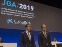 Gonzalo Gortázar y Jordi Gual, CaixaBank.