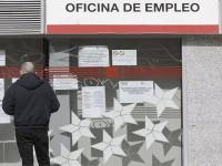 Spain, Unemployment Office.
