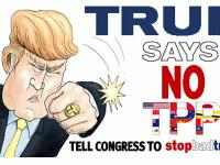 Trump para el TPP
