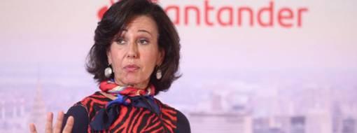 Ana Botín, Banco Santander.